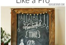 Chalkboards | Home Decorating / This board is about all things chalkboards, How to make a chalkboard, chalkboard tutorials, chalkboard ideas, chalkboard signs, DIY chalkboards, chalkboard ideas and chalkboard quotes, chalkboard art and seasonal chalkboards.