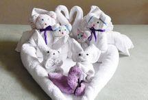 Washcloth/Towel Animals