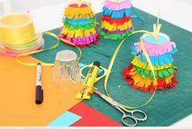 Piñata DIY / Pinates selber basteln, Kindergeburtstagsunterhaltung, Party-Deko, Kindergeburtstagsspiele, DIY, Event-Dekoration, Partyspiele