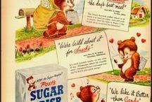 Vintage Ads 1940-50's