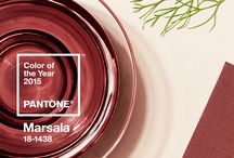 "Color of the Year 2015: Marsala / Pantone's 2015 color of the year is described to ""enrich our mind, body, and soul, exuding confidence and stability Marsala is a subtly seductive shade, one that draws us in to its embracing warmth.""   / by Northeastern Events"