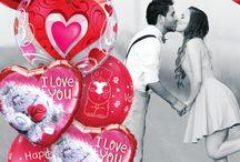 Répendez l'amour pour la St Valentin / L'amour toujours, pour cette St Valentin 2015 dites-le avec des ballons !