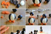 Food penguins