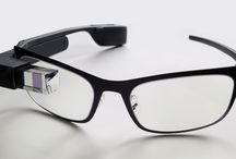 Google glasses / To wear the glasses and to have a lot of fun