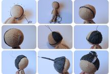 crochet doll hair