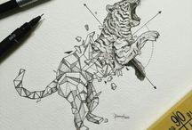mozaik dieren