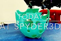 Spyder3DWorld Printed Design / Designs that got printed in our lab!