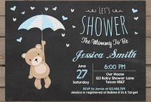 ⭐ Baby Shower Invitaciones ⭐ Invitations / Las mejores ideas para invitaciones de baby shower. Con estas diferentes postales, tarjetas, cartas e invitaciones celebrarás la mejor fiesta baby shower que puedas imaginar. Dale la mejor bienvenida a tu bebé. ⭐ Throw a baby shower in honor of the soon-to-be parents. Send out a digital invitation, choose a design featuring the most darling baby shower themes, include a custom host message to disclose all the details, like the baby's gender and due date or information about any activities.