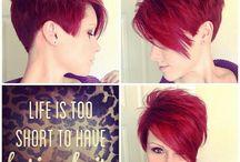 rote Haare, Frisur, schnitt