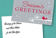 Holiday Cards / Show you customers appreciation with a Holiday Card or Business Greeting.