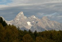 Jackson Hole Dude Ranch Teton Views / The Gros Ventre River Ranch has a beautiful, unique view of the Grand Tetons. Admire the mountains while you horseback ride, fly fish, mountain bike, hike and more!