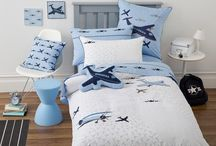 Airplane Bedding / Airplane bedding sets and bedroom accessories available from Kids Bedding Dreams online store. www.kidsbeddingdreams.com/airplane-bedding
