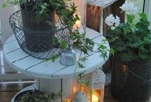 Trädgård dekoration