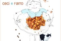 an Umbrian tale / dishes from Umbria, Italy