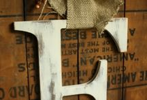 Burlap crafts / by Carla Butler