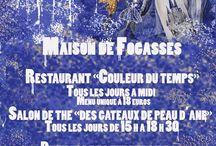 Maison de Fogasses devient la maison de Peau d'Ane..
