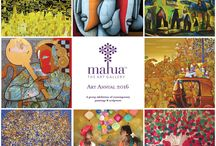 Events at Mahua Gallery / Stay upto date about upcoming events including exhibitions and workshops happening at Mahua Art Gallery, Bangalore and online.
