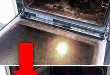 trucos para limpiar horno y mucho mas