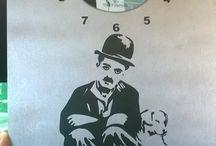 Reloj mural artesanal