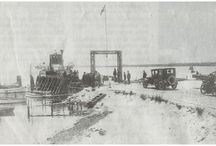 Færgerne mellem Møn, Bogø, Falster og Sjælland / Udviklingen af færgefarten mellem øerne samt den tilhørende infrastruktur i form af havne, landingssteder, veje og jernbaner.