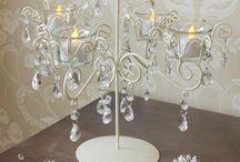 Crystal tealight Candelabra