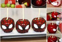 maçã do amor.