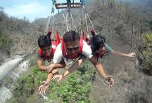 Flying Fox in Rishikesh / G-5 Adventure Sports Company in Uttarkhand that offers wide range of rafting packages for rishikesh. Flying Fox is one of the best packages in our services.