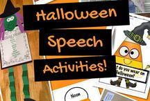 Speech: Holiday Activities
