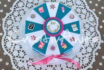 Schulanfang - Geschenke, Einladungskarten / Handgearbeitete Geschenke zur Einschulung - Einladungskarten zum 1. Schultag