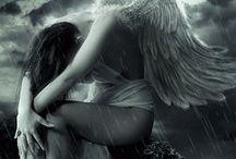 angel sad,broken,crying, lonely,fallen