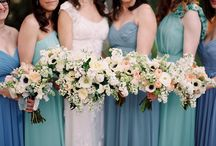 Bridesmaid Dresses / As you ask your best friends to stand beside you on your wedding day, think about what kind of bridesmaid dresses you'd like to see them in. From mismatched colors and styles to uniform long gowns to sparkly sequin numbers, get inspired by these bridesmaid dresses featured on MODwedding.