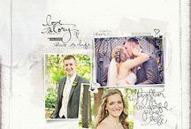 Scrapbook Ideas - A Wedding Story