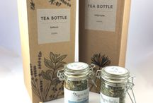 Tea time / Tea Bottles, Tea Accessories,  Organic tea leaves, Organic herbal teas infusers, organic fragrant teas