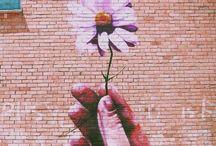 Street art / Street art, graffiti, turning the concrete jungle into something beautiful and making people think