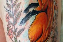 Tattoos with Foxes