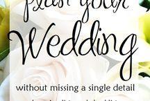 Wedding - Planning & Inspirations