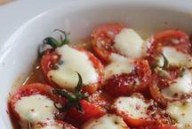 Kaşarli domatesler