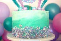Abigail's 3rd Birthday- Mermaids