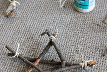 twigs and sticks / crafty ideas with twigs