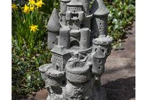 Fairy Garden / From statuary and accents to seating and lights, our variety of outdoor garden pieces will look wonderful by your fairy garden. Shop now at www.landscaperoutlet.com