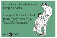 4 ASL Terps / Deaf Educators / This board is for ASL Interpreters and Teachers of the Deaf and Hard of Hearing.  Please also see our Sign Language and Hearing Loss Boards for more pins / by PediaStaff