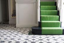 Hallways - monochrome