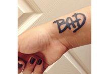 Tatuaże bad mj