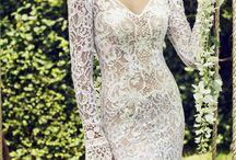 Mermaid wedding dress / Wedding dress i love it