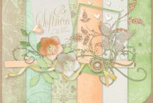 Something Soft / Digital Scrapbooking kit by Mad Genius Designs / by Mad Genius Designs