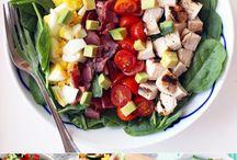 Healthy snacks, food.
