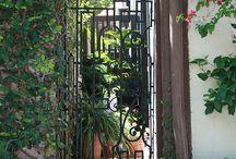 Enterances / Garden gate to front door