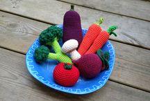 amigurumi fruit &vegetables