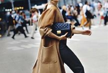 Coveting coats / Inspiring different ways to dress coats up and down.