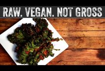Vegan Challenge / What's the difference between a vegetarian diet & a vegan diet? Both diets say no to meat; no beef, no pork, no chicken, no fish, no seafood. (Yes, chicken, fish & seafood are meat, & therefore not allowed to be called vegetarian nor vegan. Don't listen to the Catholics.)  Vegetarian says yes to eggs, dairy, & sometimes honey. Vegan says no to eggs, dairy, & honey.  Can you survive on a vegan diet for 30 days? Just don't turn into one of those judgemental preachy vegans nobody likes. / by Herr Mango